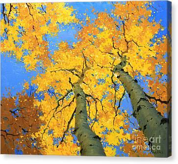 Aspen Sky High  Canvas Print by Gary Kim