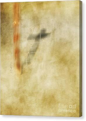 At The Cross Canvas Print by Anita Faye