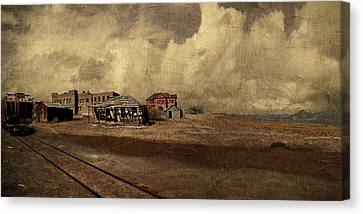 At The Edge Of Time Canvas Print by Jeff Burgess