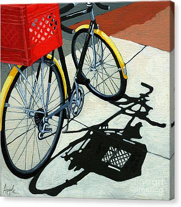 At The Grocery Canvas Print by Linda Apple
