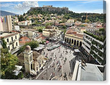 Athens, Greece Canvas Print by Edwin Verin