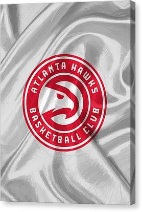 Atlanta Hawks Canvas Print by Afterdarkness