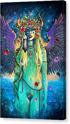 Atlanta Rising Canvas Print by Keith Stillwagon