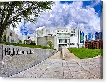 Atlanta's High Museum Canvas Print by Mark E Tisdale