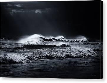 Atlantic Ocean Canvas Print by Dapixara Art