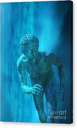 Atlantis Canvas Print by Edward Fielding