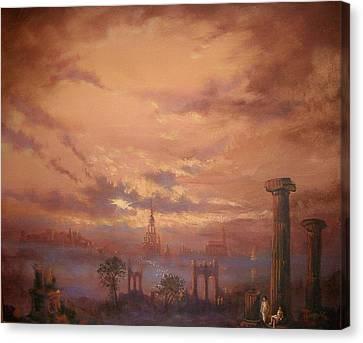 Atlantis Faded Glory Canvas Print by Tom Shropshire