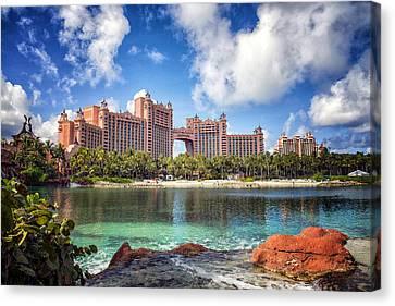 Atlantis Resort - Paradise Island -  - Bahamas Canvas Print by Jon Berghoff