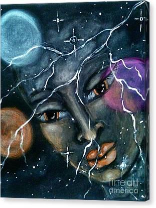 Atzilut Canvas Print by Maya Telford