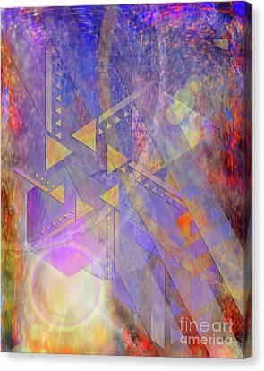 Aurora Aperture Canvas Print by John Robert Beck