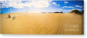 Australia Desert Sand Panorama  Canvas Print by Jorgo Photography - Wall Art Gallery