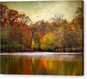 Autumn Arises 2 Canvas Print by Jessica Jenney