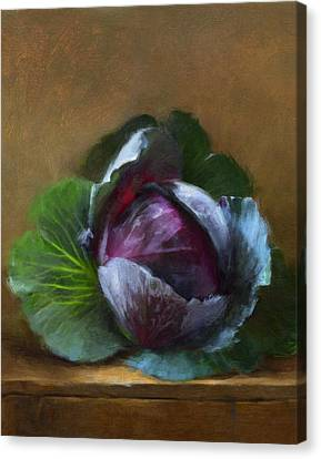 Autumn Cabbage Canvas Print by Robert Papp