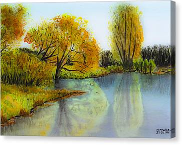 Autumn Colours Canvas Print by Svetlana Sewell
