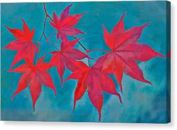 Autumn Crimson Canvas Print by William Jobes