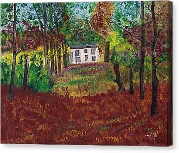 Autumn Dreams Canvas Print by James Bryron Love