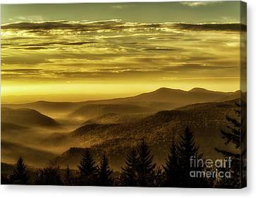 Autumn Equinox Dawn Canvas Print by Thomas R Fletcher