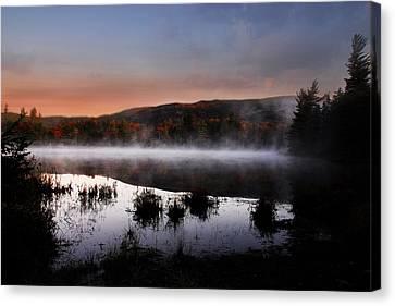 Autumn Fog Canvas Print by William Carroll