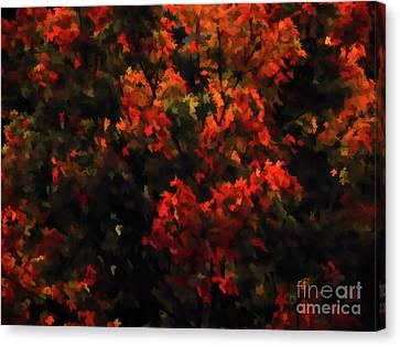 Autumn Foliage 5 Canvas Print by Lanjee Chee