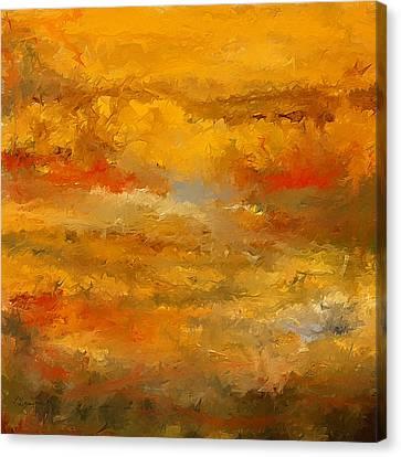 Autumn Foliage Impressions Canvas Print by Lourry Legarde