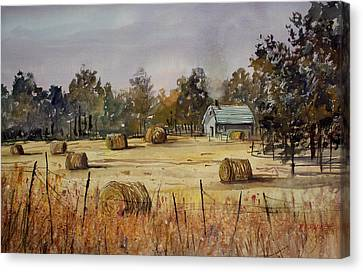 Autumn Gold Canvas Print by Ryan Radke