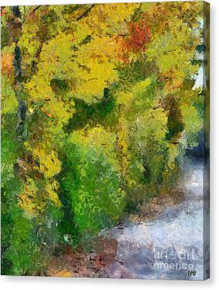 Autumn Harmony Canvas Print by Dragica  Micki Fortuna