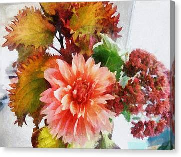 Autumn Joy Canvas Print by Michelle Calkins