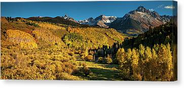 Autumn Panorama Canvas Print by Andrew Soundarajan
