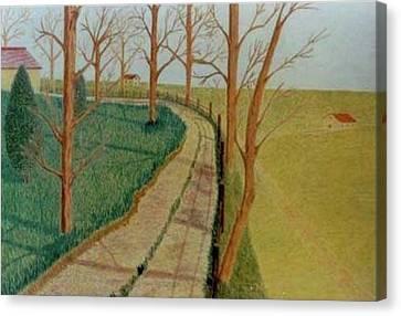 Autumn Canvas Print by Vincent Consiglio