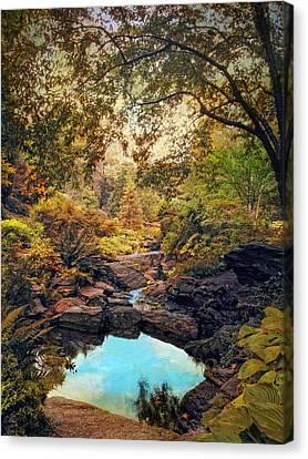 Autumnal Garden Canvas Print by Jessica Jenney
