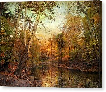 Autumnal Tones Canvas Print by Jessica Jenney