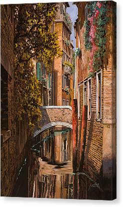 autunno a Venezia Canvas Print by Guido Borelli