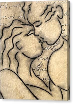 Avec Amour Canvas Print by Tom Fedro - Fidostudio
