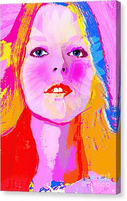Avril Canvas Print by Neil Finnemore