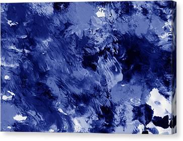 Awakened Sky- Abstract Art By Linda Woods Canvas Print by Linda Woods