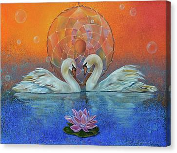 Awakening To The Beauty Within Canvas Print by Sundara Fawn