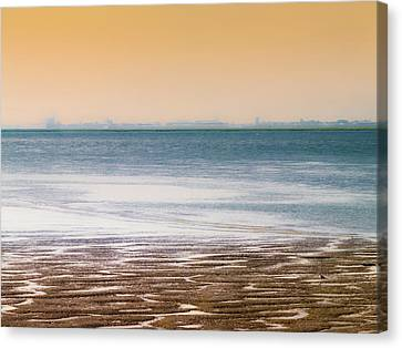 Away From Civilization Canvas Print by Wim Lanclus
