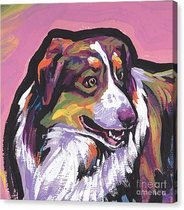 Oh Say Aussie Canvas Print by Lea S