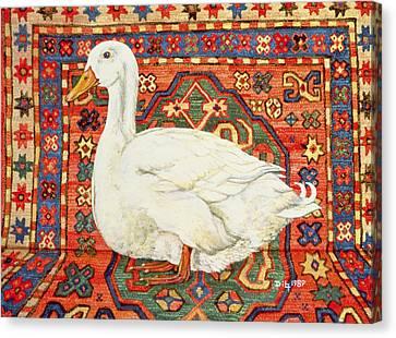 Aylesbury Carpet Drake Canvas Print by Ditz