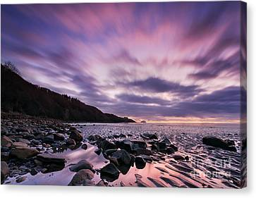 Ayrshire Sunset - Scotland Canvas Print by Rod McLean