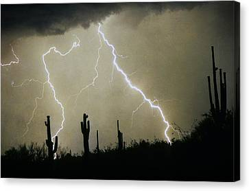 Az Desert Storm Canvas Print by James BO  Insogna