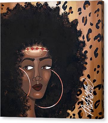 Azima Canvas Print by Aliya Michelle