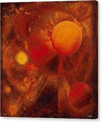 Azimuth Canvas Print by Laura Swink