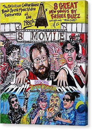 B Movie Canvas Print by Jonathan Morrill