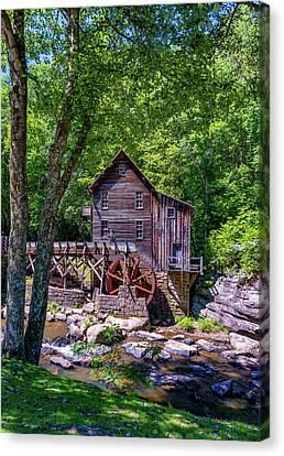 Babcock Grist Mill Canvas Print by Steve Harrington