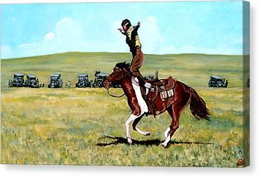 Babette Rides Again Canvas Print by Tom Roderick