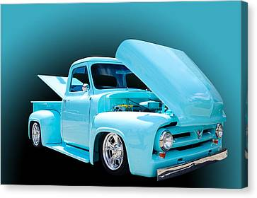 Baby Blue Canvas Print by Jim  Hatch