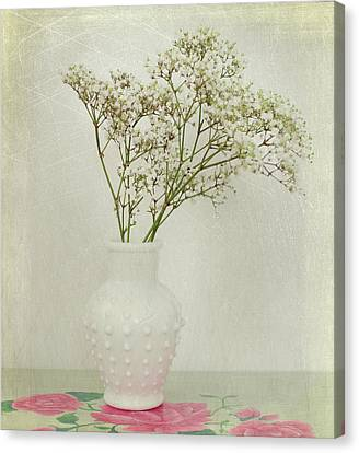 Baby's Breath Canvas Print by June Marie Sobrito