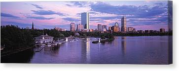 Back Bay Boston Ma Canvas Print by Panoramic Images