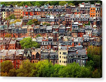 Back Bay Canvas Print by Rick Berk